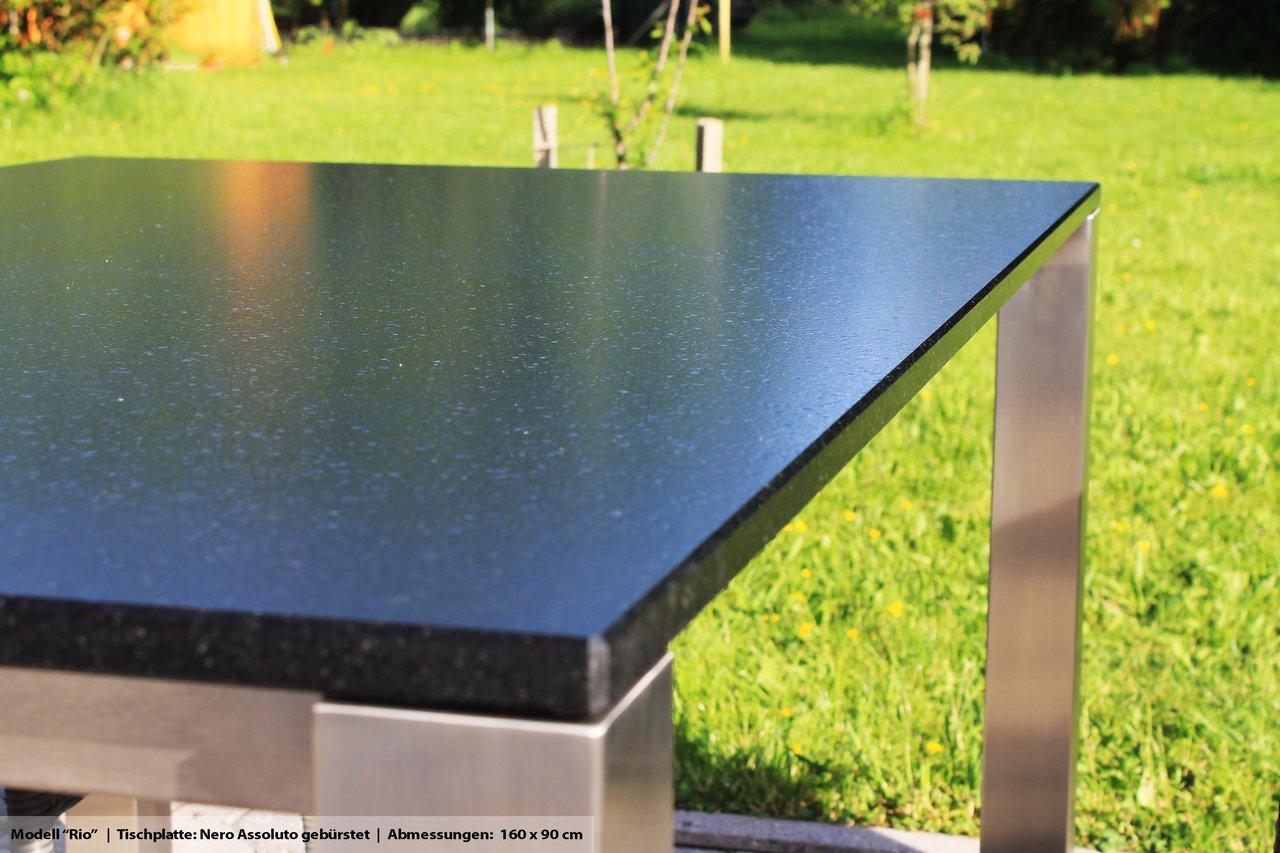 Balkon Tisch 120x80.Veikin Design Gartentisch Balkontisch Rio